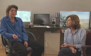Claire Atherton & Chantal Akerman in