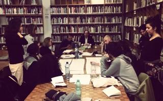 atelier avec Donatien Grau et Oriol Vilanova